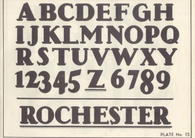 Lettering - Harry B. Wright 1962 (16)
