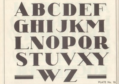 Lettering - Harry B. Wright 1962 (17)