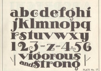 Lettering - Harry B. Wright 1962 (18)