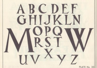 Lettering - Harry B. Wright 1962 (21)