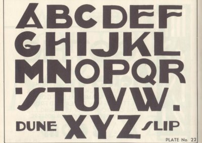 Lettering - Harry B. Wright 1962 (23)