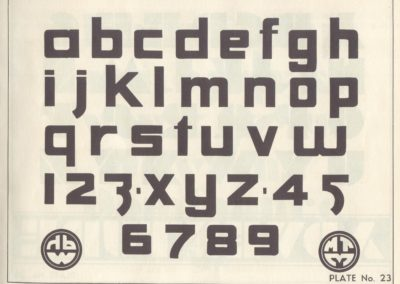 Lettering - Harry B. Wright 1962 (24)