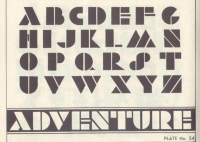 Lettering - Harry B. Wright 1962 (25)