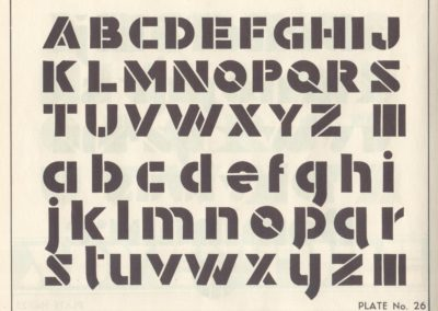 Lettering - Harry B. Wright 1962 (27)