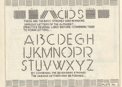 Lettering - Harry B. Wright 1962 (3)