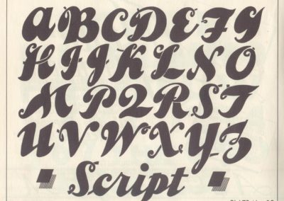 Lettering - Harry B. Wright 1962 (31)