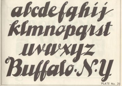 Lettering - Harry B. Wright 1962 (32)