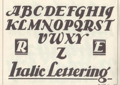 Lettering - Harry B. Wright 1962 (33)