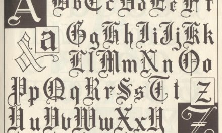 Lettering – Harry B. Wright