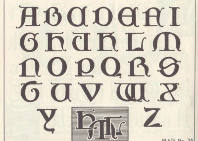 Lettering - Harry B. Wright 1962 (37)