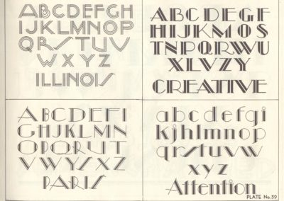 Lettering - Harry B. Wright 1962 (40)