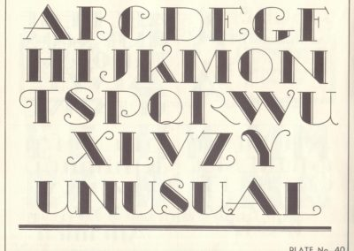 Lettering - Harry B. Wright 1962 (41)