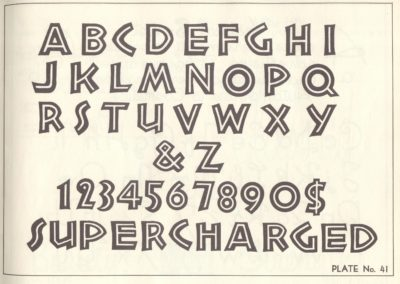 Lettering - Harry B. Wright 1962 (42)
