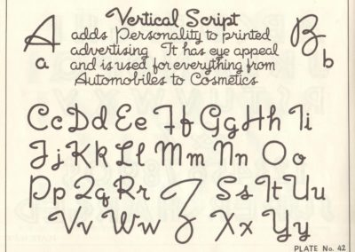 Lettering - Harry B. Wright 1962 (43)