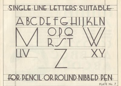 Lettering - Harry B. Wright 1962 (8)
