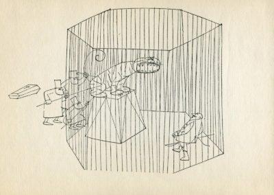 Melancholie - Paul Flora 1969 (1)