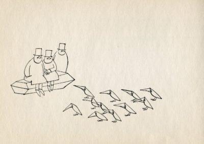 Melancholie - Paul Flora 1969 (10)