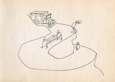 Melancholie - Paul Flora 1969 (8)