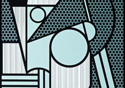 Modern head - Roy Lichtenstein (1970)