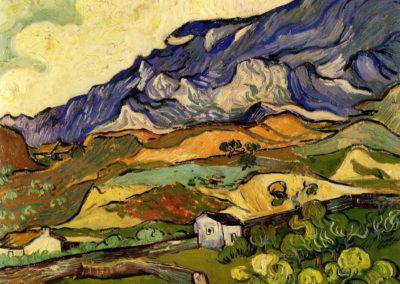 Montagne pres de Saint Remy - Vincent Van Gogh (1890)