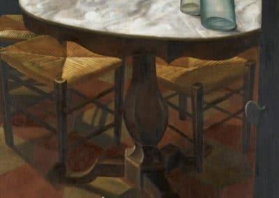 Nature morte à la table - Alexander Yakovlev (1926)