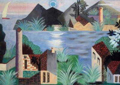 Paysage algerien - Jean Lurçat (1938)