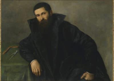 Portrait d'un architecte - Lorenzo Lotto (1540)