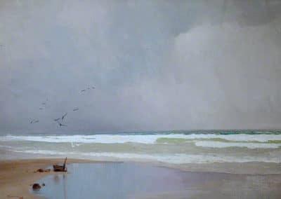 The coming storm - John Miller Nicholson (1898)