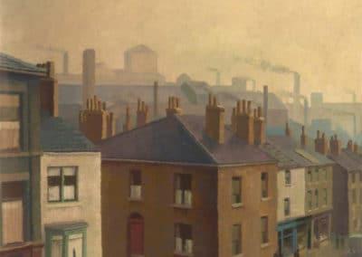 A Lancashire town - Harold Workman (1946)