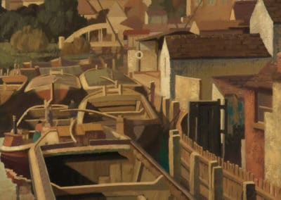 Barge corner - Harold Workman (1941)