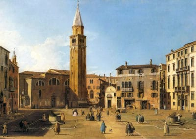 Campo Sant'Angelo - Canaletto