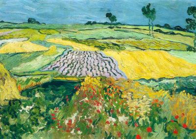 Champ de blé près d'Auvers - Vincent van Gogh (1890)