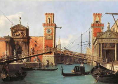 Entrée de l'arsenal - Canaletto