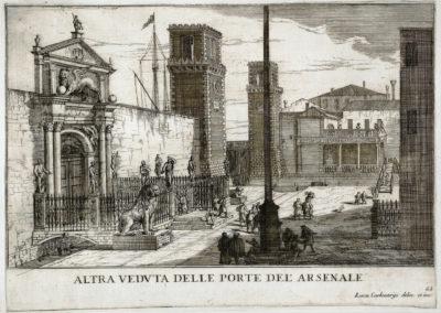Entrée de l'arsenal - Carlevarijs (2)
