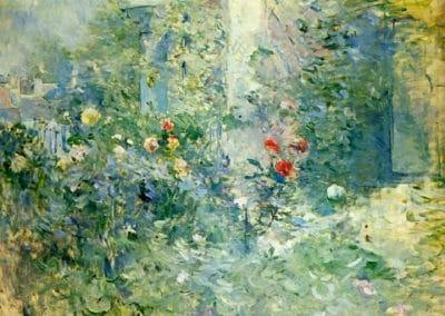 Jardin à Bougival - Berthe Morisot (1884)