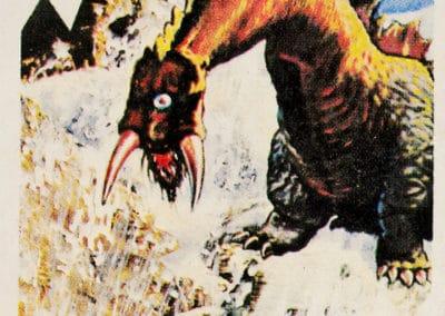 Jeu de cartes du kaiju Pachimon 1970 (1)