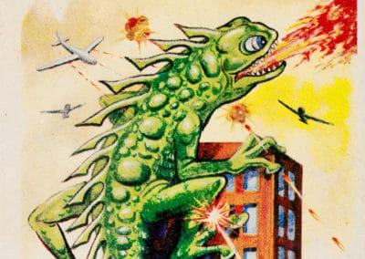 Jeu de cartes du kaiju Pachimon 1970 (10)