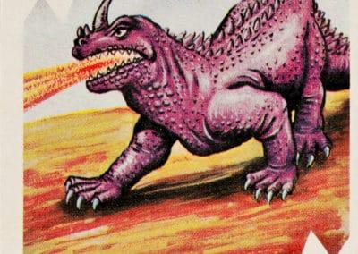 Jeu de cartes du kaiju Pachimon 1970 (12)
