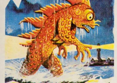 Jeu de cartes du kaiju Pachimon 1970 (13)