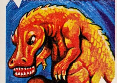 Jeu de cartes du kaiju Pachimon 1970 (27)