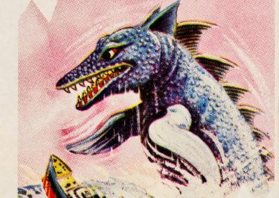 Jeu de cartes du kaiju Pachimon 1970 (30)