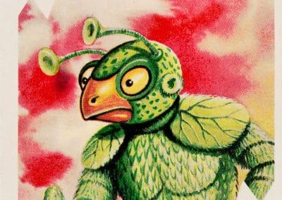 Jeu de cartes du kaiju Pachimon 1970 (31)