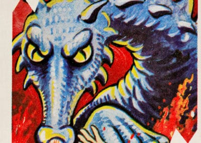 Jeu de cartes du kaiju Pachimon 1970 (32)