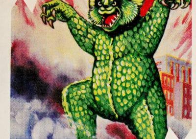 Jeu de cartes du kaiju Pachimon 1970 (33)