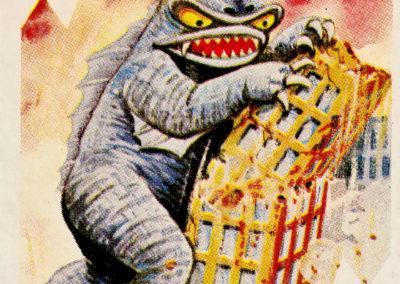 Jeu de cartes du kaiju Pachimon 1970 (34)