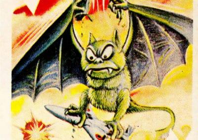 Jeu de cartes du kaiju Pachimon 1970 (35)