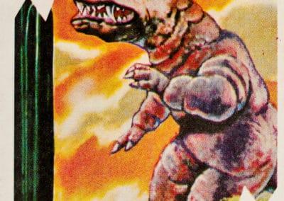 Jeu de cartes du kaiju Pachimon 1970 (4)