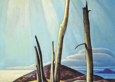 Lake superior - Lawren Harris (1920)