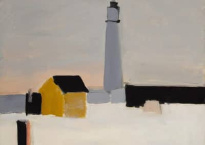 Le phare d'Antibes - Nicolas de Stael (1954)