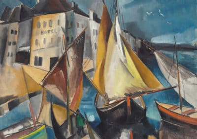 Le port - Maurice de Vlaminck (1910)